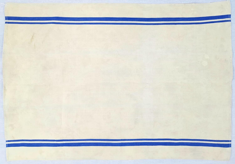 1940 Dated Kriegsmarine Gally Towel.