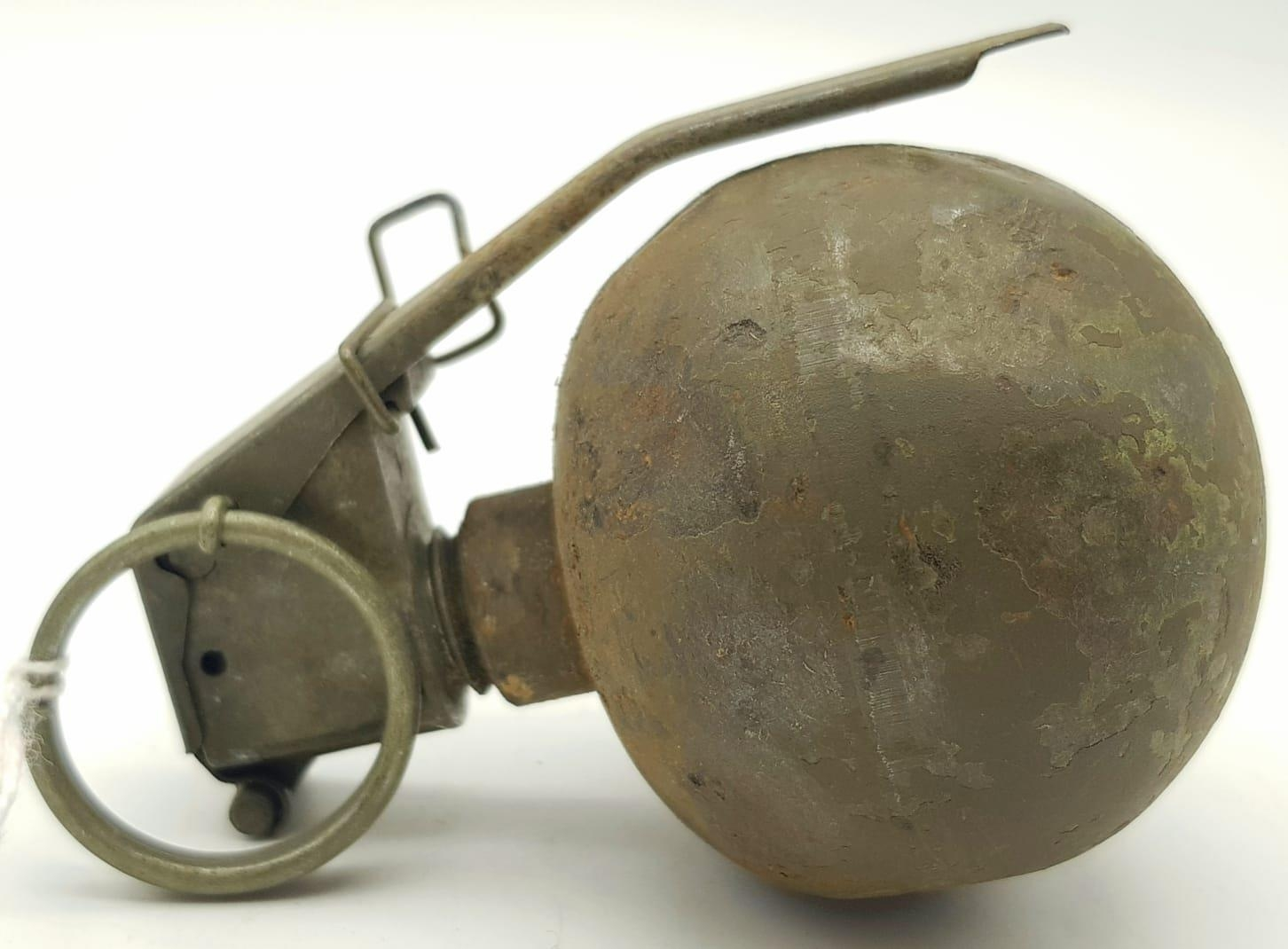Vietnam War Era INERT US M.67 Grenade. The idea was that every all-American boy could throw a