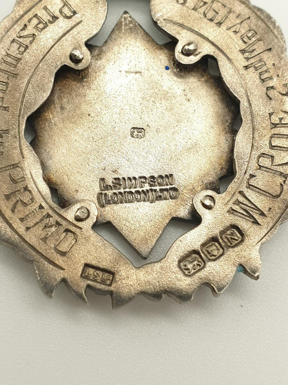 PRIMO Silver enamel medal with original ribbon - Image 5 of 7