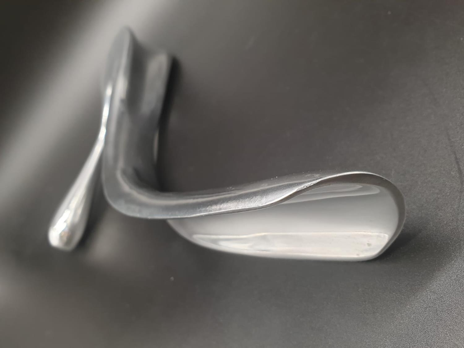 A rare Aluminium shoe horn of large proportions designed and signed by Manolo Blahnik. Manuel ( - Image 6 of 10