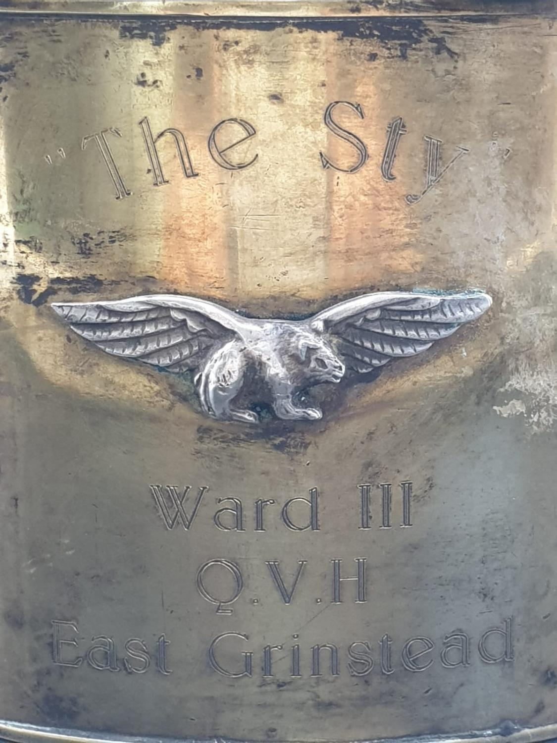 Guinea Pig Club Lighter From Ward III of the Queen Victoria?s Hospital, East Grinstead. The Guinea - Image 2 of 7