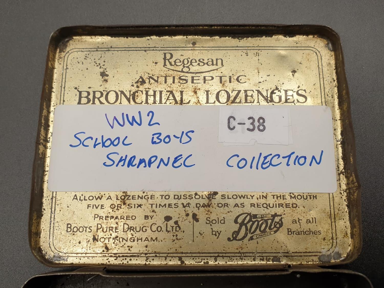 WW2 Schools Boys Shrapnel Collection. - Image 6 of 6