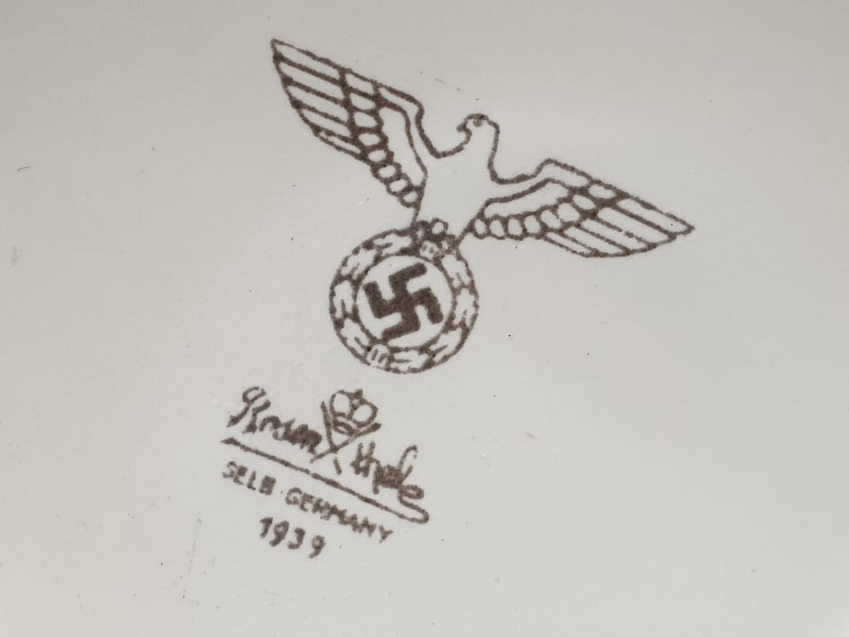 1939 Dated German Army China Mug. - Image 3 of 3