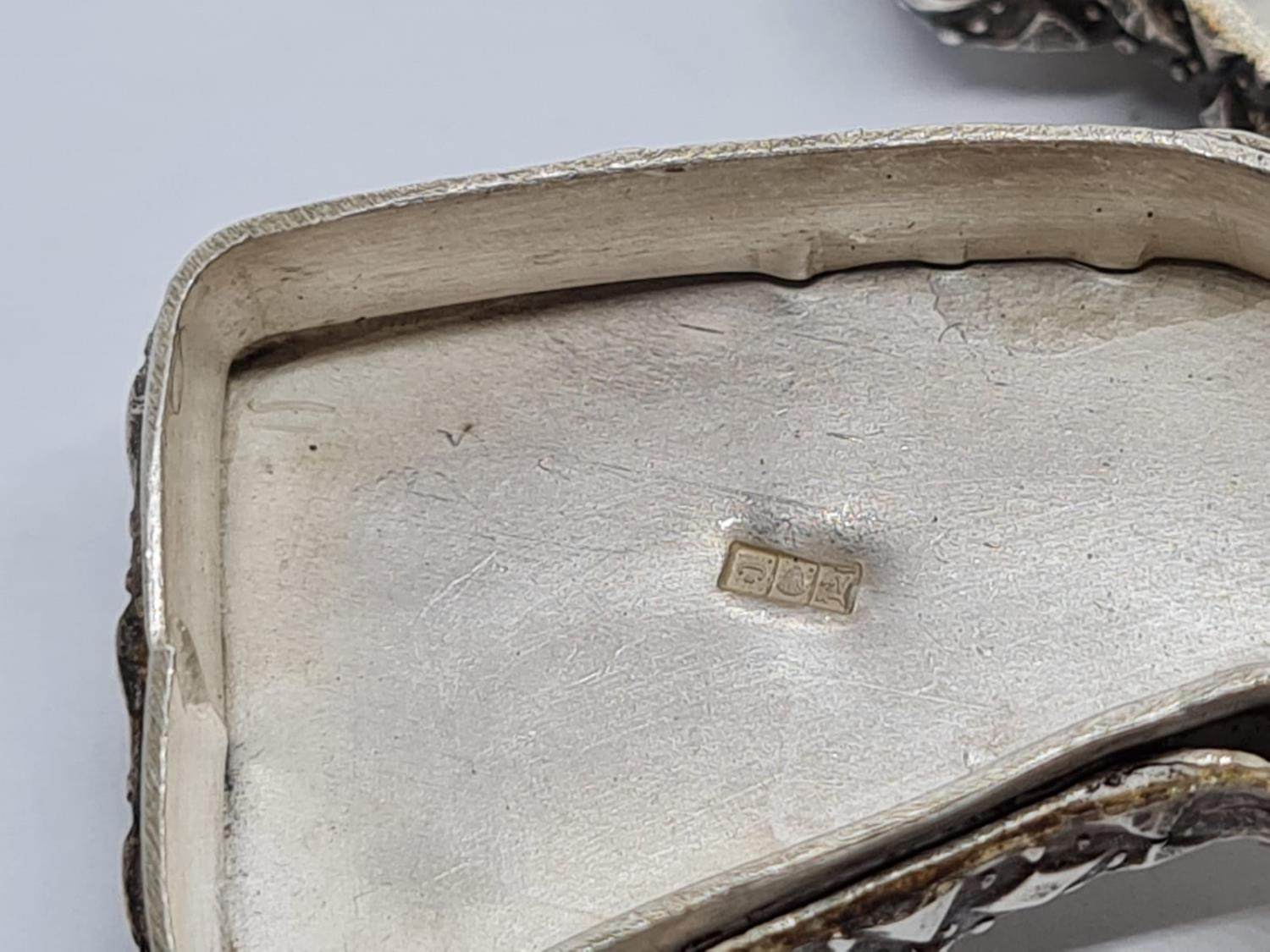 Novelty Islamic Silver Pill Box. In the form of Egyptian Nefertiti. 5.1 cm. 29g - Image 5 of 5