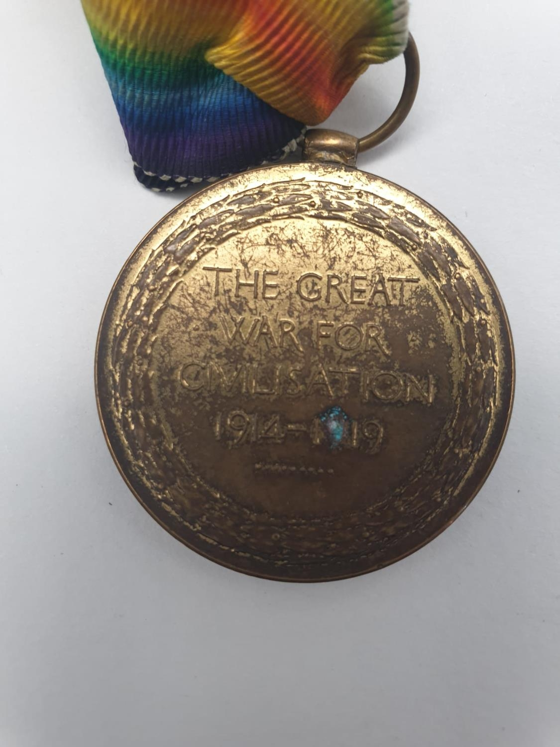 THE GREAT WAR FOR CIVILISATION 1914-18 MEDAL PRESENTED TO DVR J BERRY ROYAL ARTILLERY WITH - Image 3 of 7