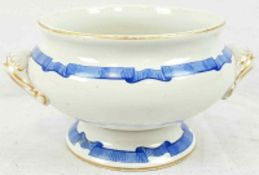Antique Royal Worcester Bowl with Thomas Goode and Buckingham Palace mark on base. 12cm diameter.