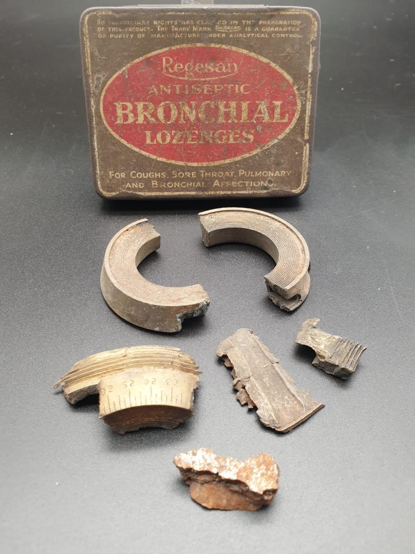 WW2 Schools Boys Shrapnel Collection.