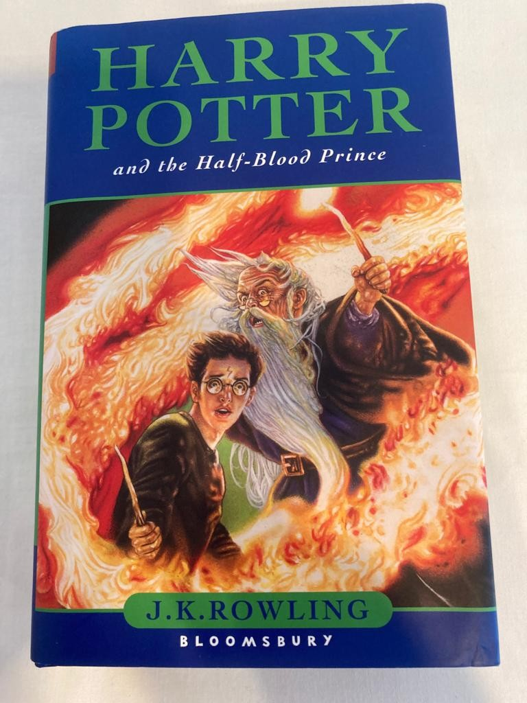 First edition of Harry Potter and the half blood prince. Complete with dust jacket in perfect