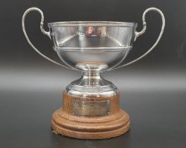 Antique Silver Golf Trophy Won by Alexis Charles Doxat VC. Awarded the Victoria Cross in 1901 for an