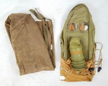 Ultra Rare 1941 Dated Hospital Gas Mask for patients with facial injuries and unable to wear a