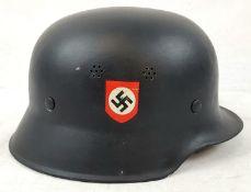 WW2 German Light Weight Police Helmet