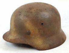 WW2 German M40 Helmet in Normandy Camouflage