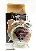 The Beatles 4 Ever Alarm Clock. Unused, as new, in original box!