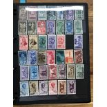 ITALY plus States and Colonies, a somewhat haphazard collection on over 50 Hagner sheets, many
