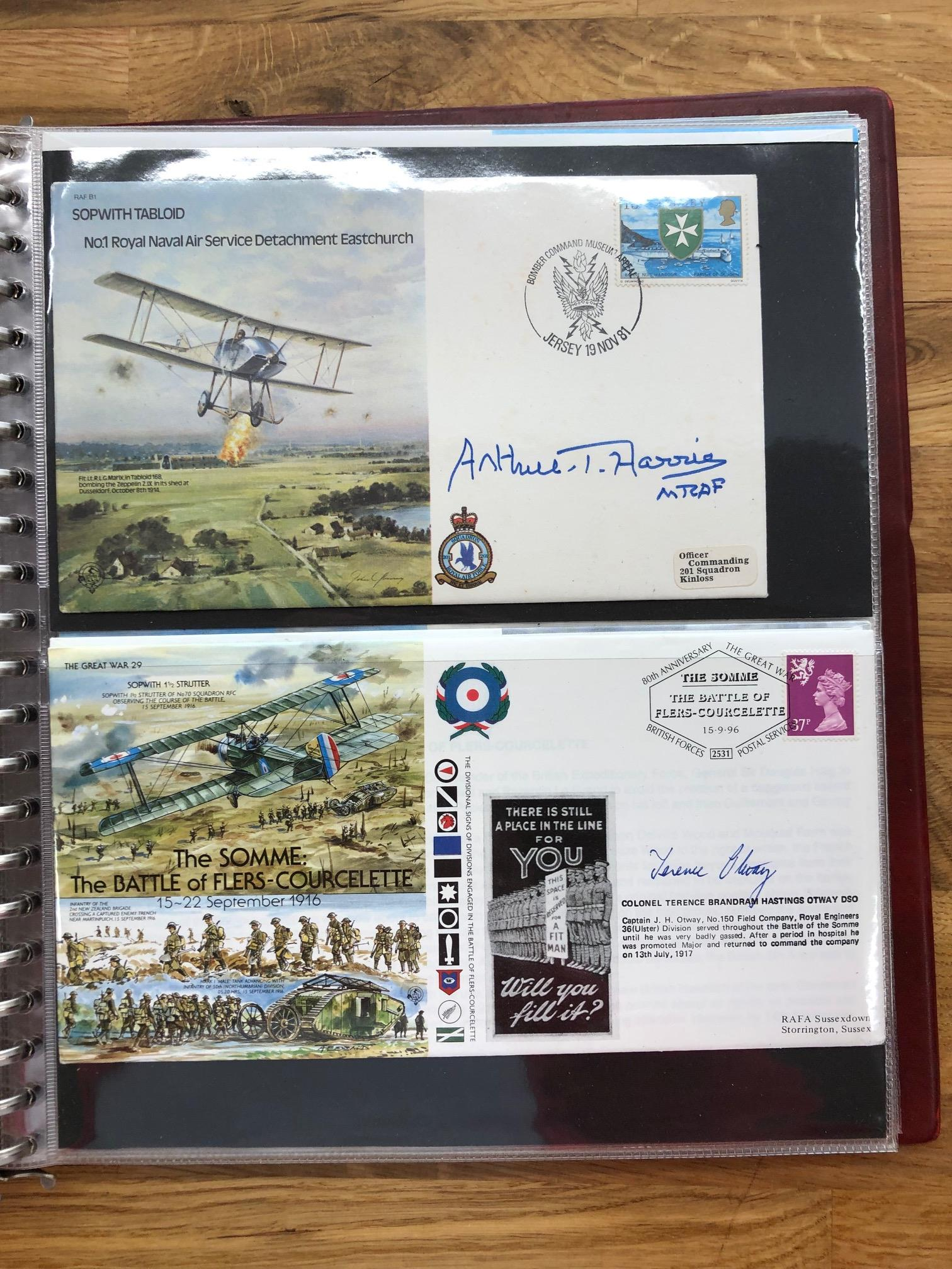 COVERS early Flight Memorabilia. An album containing 28 signed Commemorative Flight covers plus - Image 2 of 2