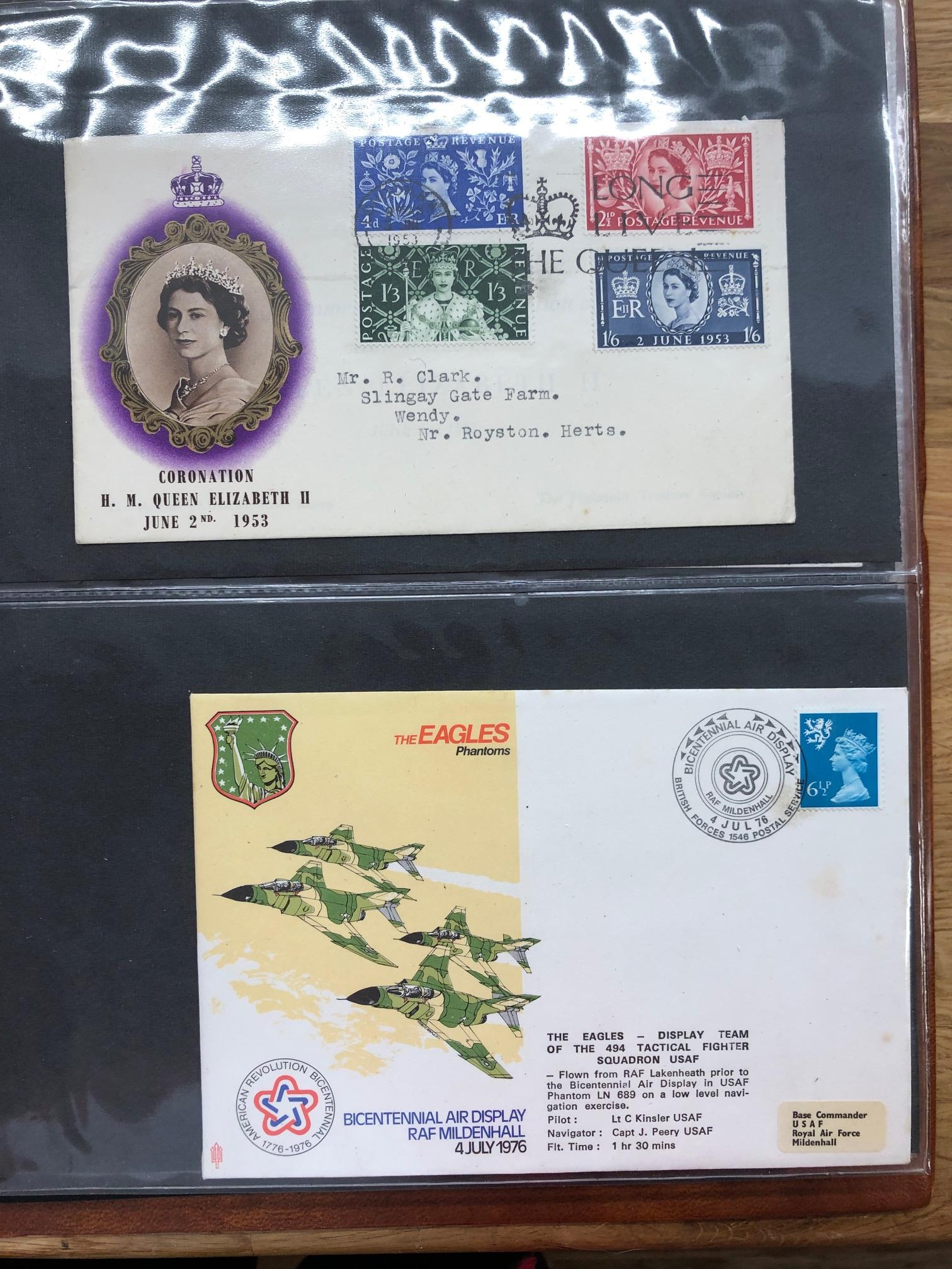 COVERS selection of all periods world covers in 2 albums, noted France inc earlier, GB, Rhodesia, - Image 2 of 2