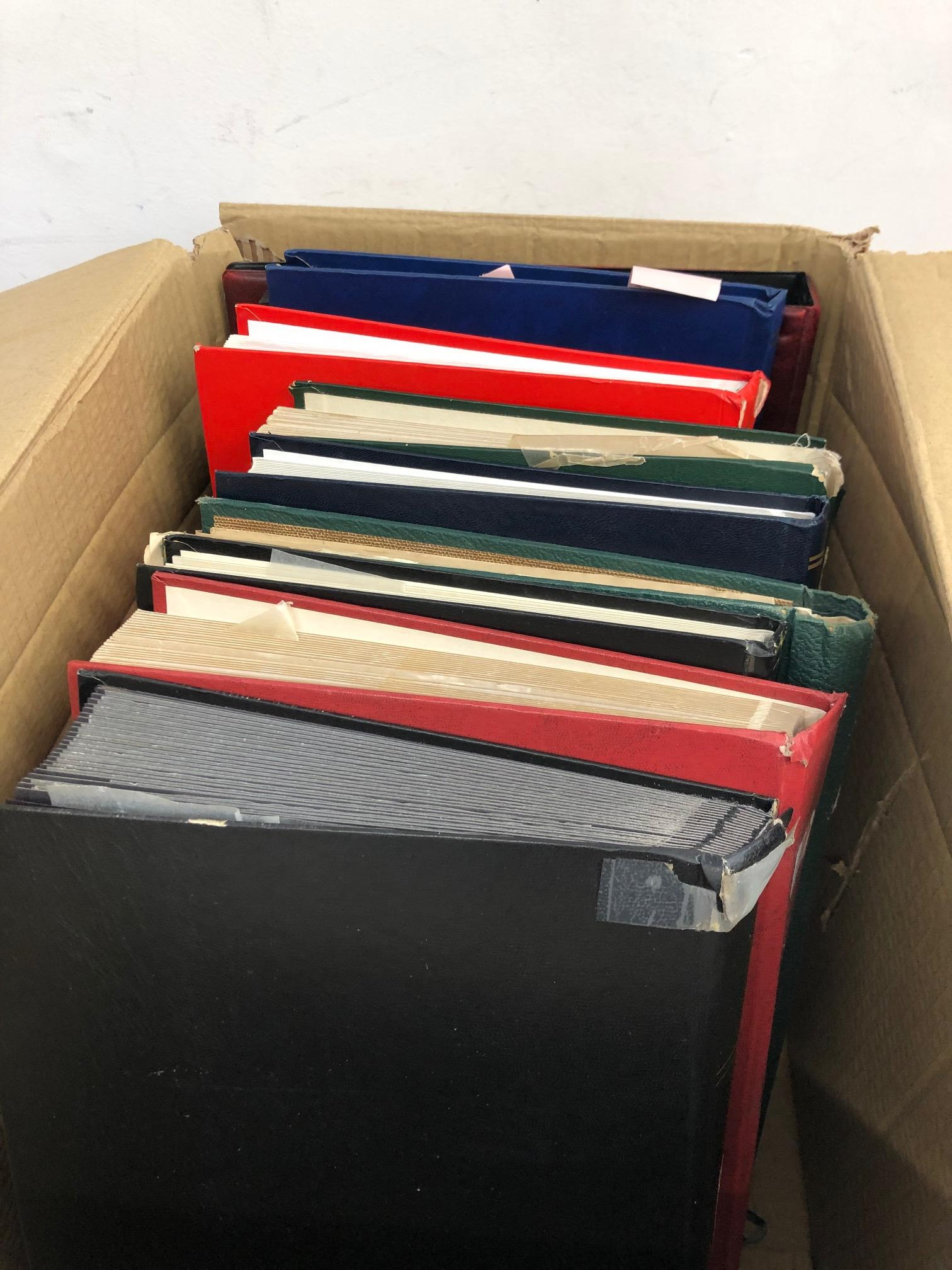 WORLD collector's remainders in 9 stock books plus album. All periods mint and used noted France,