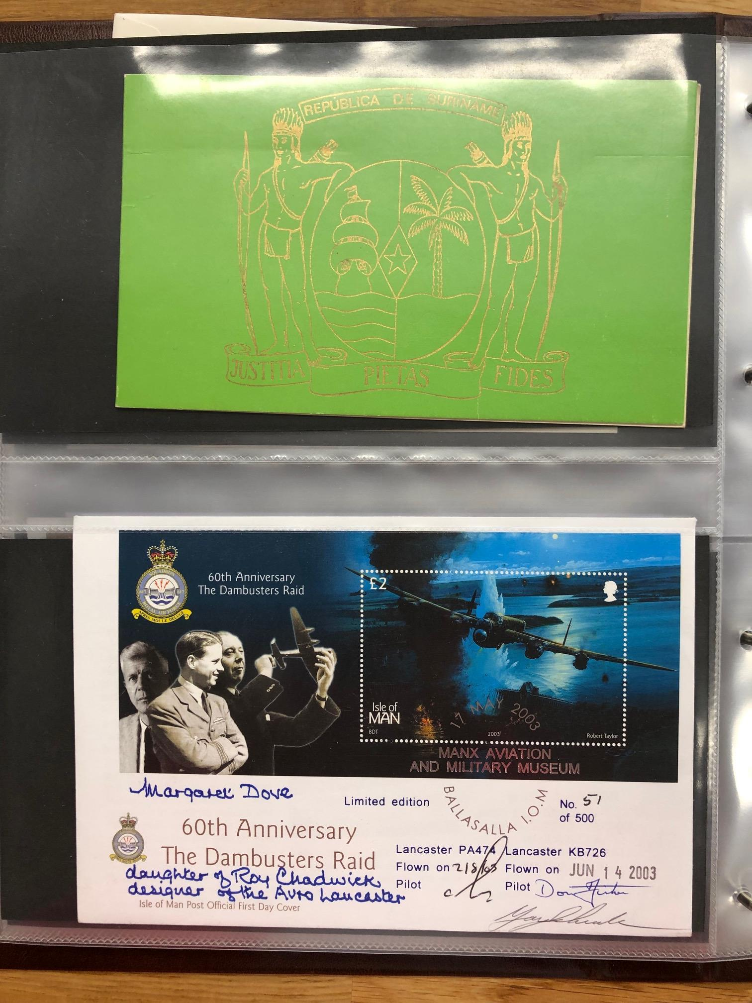 COVERS selection of all periods world covers in 2 albums, noted France inc earlier, GB, Rhodesia,