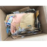WORLD KILOWARE large box containing mostly 1970s period world virtually no GB with Russia, Japan,