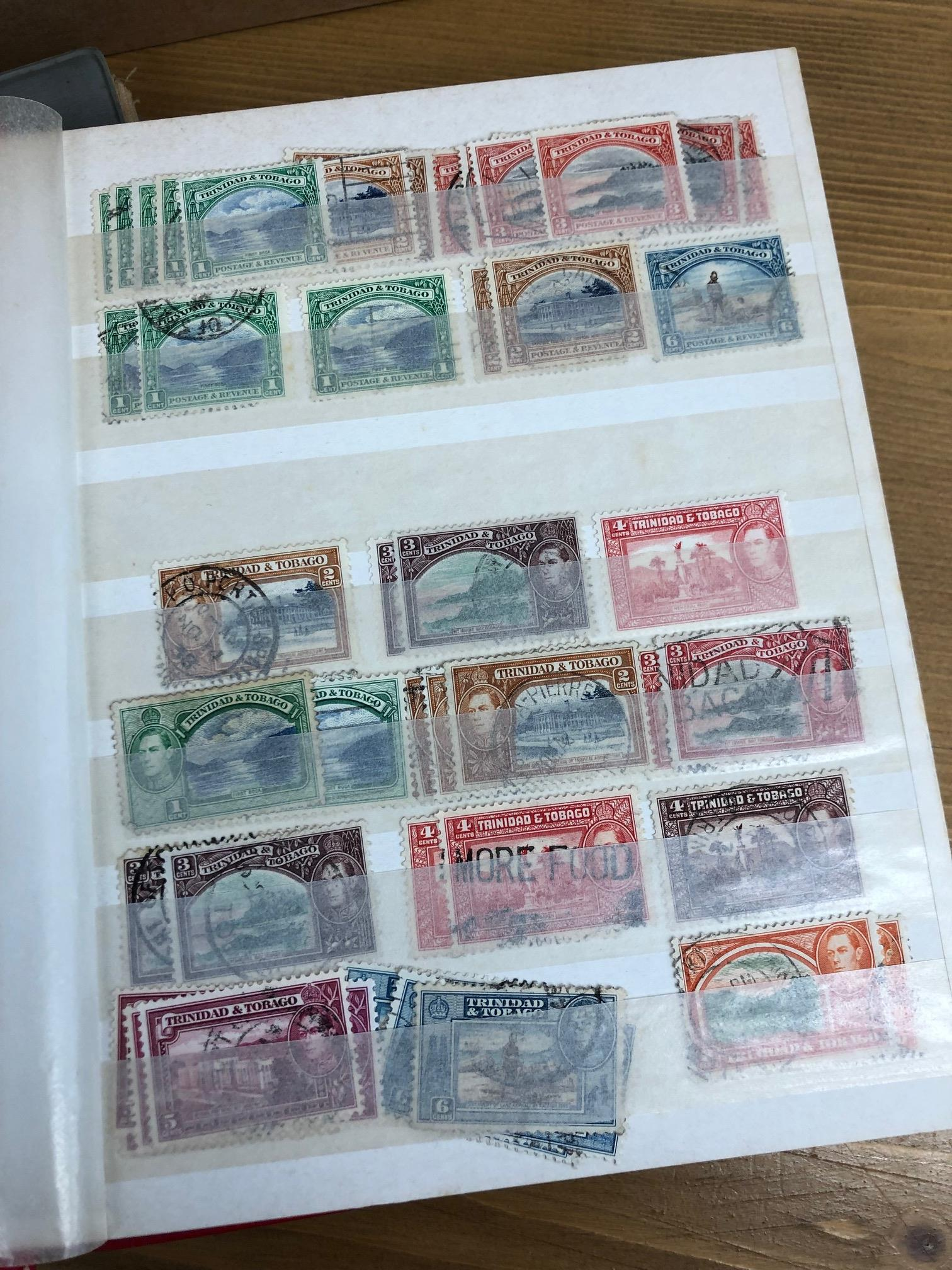 COMMONWEALTH collector's remainders in 8 albums or stock book, all periods mint and used, noted some - Image 3 of 3