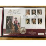 COIN COVERS 2017 Trooping of the Colour bearing 1oz silver coin no 200 of 250 in special folder.