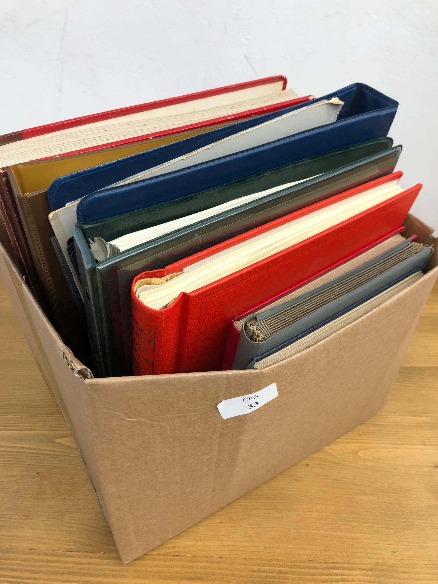 COMMONWEALTH collector's remainders in 8 albums or stock book, all periods mint and used, noted some