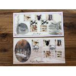 FDCs 1996 Wildfowl set on illustrated FDC x 2 signed by Julian Pettifer and Magnus Magnussen.