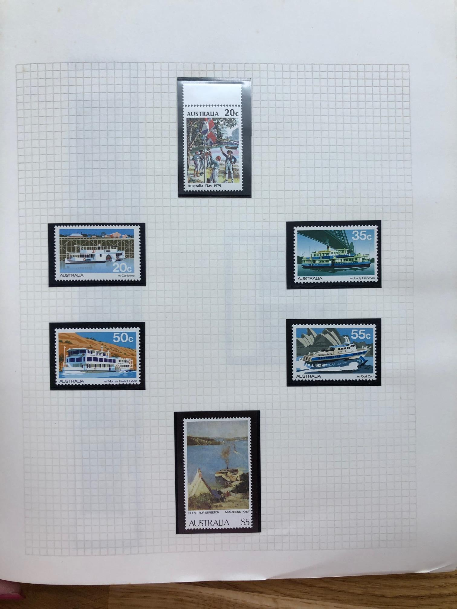 CW SMALL ISLANDS um collection in Viscount album plus a few hinged and used. Selections from