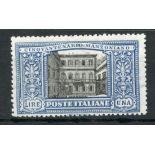 ITALY 1923 1L Manzoni mint. SG 159. Cat £120.