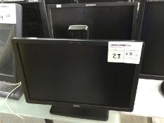 DELL MONITOR X 1PC AND THINKVISION MONITOR X 1PC