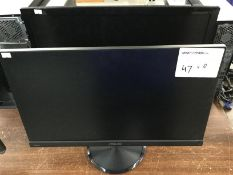 ASUS MONITOR X 1PC AND SAMSUNG MONITOR X 1PC