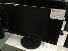 LG MONITOR X 1PC AND DELL MONITOR X 1PC