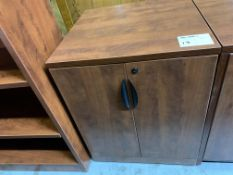 2 DOOR CABINET - - MELAMINE WOOD