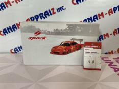 """SPARKMODEL, MINIMAX, Scale Car Model, Metal 1:18, """"Porsche 935, No.70, MOMO, 1981"""" Mo# 18S055"""