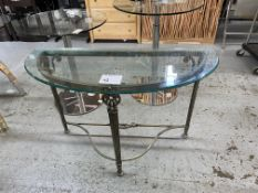 GLASS WALL TABLE