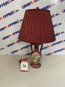 COLONIAL ART LAMP