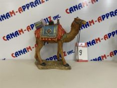 WOOD CAMEL STATUE