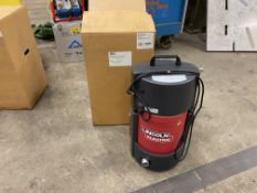 Lincoln miniflex portable high vacuum fume extractor (new in box)