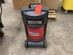 Lincoln miniflex portable high vacuum fume extractor