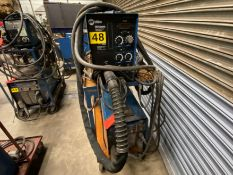 Miller Phoenix 456 CC/CV DC arc welder SN KH564613 with watermate 1 cold water chiller with XR