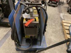 Esab PCM-1000i plasma cutter on rolling cart SN P0-1621009
