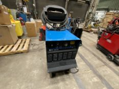 Miller Gold Star 652 CC DC arc welder SN n/a on rolling cart