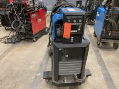 Miller Continuum 350 400 amp arc welder with Continuum digital programmable wire feed on rolling