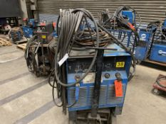 Miller SRH-333 CC DC arc welder SN KB988454 on rolling cart