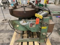 "Ransome Mn 10P welding positioner 30"" turn table, 10000 lb capacity"