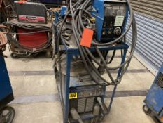 Miller Phoenix 456 CC/CV DC arc welder SN KH564612 with watermate 1 cold water chiller with XR