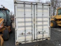 "20' X 96"" steel sea container"