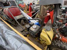 Wacker VP-1340 gas vibratory plate compactor