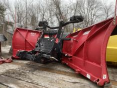 "Boss Smart-Shield EXT quick connect 9' 2"" V-plow"