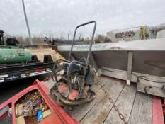 Chicago Pneumatics gas vibratory plate compactor
